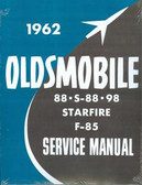 1962 OLDSMOBILE 88/S-88/98/F-85/STARFIRE SHOP MANUAL