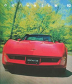 1982 CORVETTE ORIGINAL SALES BROCHURE