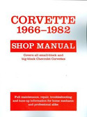 1966 67 68 69 70 71 72 73 74 75 76 77 78 79 80 81 82 CORVETTE SHOP MANUAL