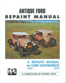 1928 29 30 31 32 33 34 35 36 FORD MODEL A REPAINT MANUAL