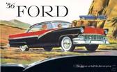 1956 FORD CAR SALES BROCHURE