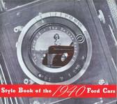 1940 DE LUXE FORD V-8 PASSENGER CAR SALES BROCHURE