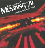 1972 MUSTANG/ MACH 1 SALES BROCHURE