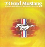 1973 MUSTANG/ MACH 1 SALES BROCHURE