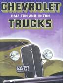 1936 CHEVROLET TRUCK SALES BROCHURE-1/2 TON & 1 1/2 TON