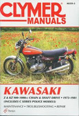 1973 74 75 76 77 78 79 80 81 KAWASAKI Z1 Z900 KZ900 Z1000 KZ1000 SHOP MANUAL