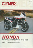 1983 84 85 HONDA VF700F VF750F VF1000F INTERCEPTOR SHOP MANUAL