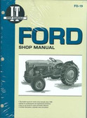 1953 54 55 FORD TRACTOR NAA SHOP MANUAL