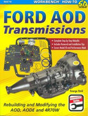 FORD AOD AODE 4R7OW AUTOMATIC TRANSMISSION-REBUILD OR MODIFY FOR PERFORMANCE