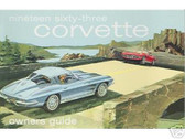 1963 63 CORVETTE OWNERS MANUAL