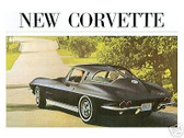 1963 63 CORVETTE SALES BROCHURE