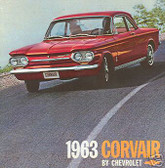 1963 CHEVY CORVAIR/MONZA SALES BROCHURE