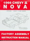 1966 NOVA/SS/CHEVY II FACTORY ASSEMBLY MANUAL