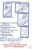1970 BARRACUDA/CUDA/CHALLENGER RT JACK INSTRUCT DECAL