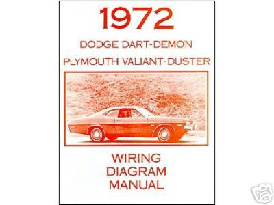 1972 72 plymouth duster/valiant wiring diagram  image 1  loading zoom