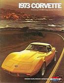1973 73 CORVETTE STINGRAY SALES BROCHURE