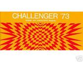 1973 73 DODGE CHALLENGER OWNER'S MANUAL