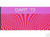 1973 73 DODGE DART OWNER'S MANUAL