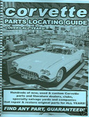 53 62 63 64 65 66 67 82 CORVETTE PARTS LOCATING GUIDE