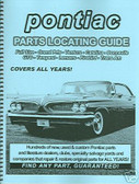 64 65 66 67 69 70 71 PONTIAC GTO PARTS LOCATING GUIDE