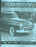 66 68 69 70 71 OLDSMOBILE /442 PARTS LOCATING GUIDE