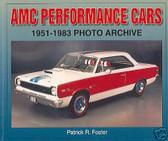 68 69 70 71 72 AMC JAVELIN/AMX PERFORMANCE HISTORY