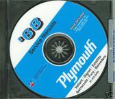68 PLYMOUTH SATELLITE/ROAD RUNNER SHOP/BODY MANUAL-CD