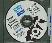 71 PLYMOUTH BARRACUDA/ROAD RUNNER SHOP/BODY MANUAL-CD