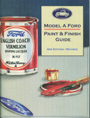 1928 29 30 31 MODEL A FORD-PAINT & FINISH GUIDE.