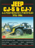 1976 77 78 79 80 81 82 83 84 85 86 JEEP CJ-5 & CJ-7 4X4 PERFORMANCE PORTFOLIO