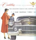 1954 CADILLAC SALES BROCHURE