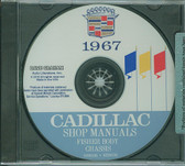 1967 CADILLAC SHOP/BODY MANUAL ON CD