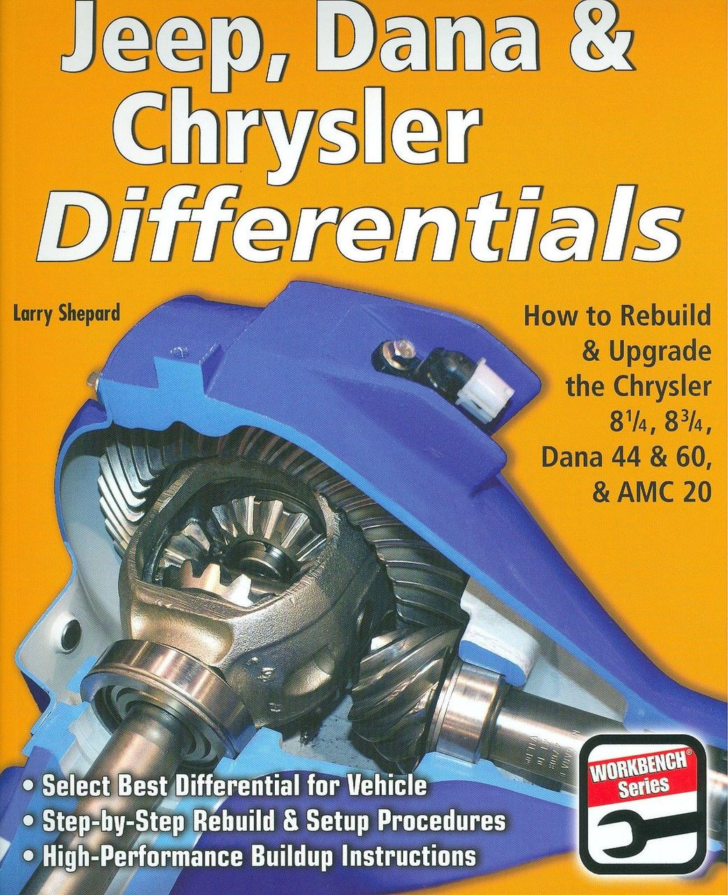 DANA & CHRYSLER DIFFERENTIALS-REBUILD & MODIFY-CHRY 8 1/4, 8