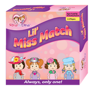 Lil' Miss Match Board Game