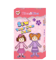 Rina and Dina Sew Your Own Dolls Kit