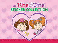 Rina and Dina PVC Sticker Album