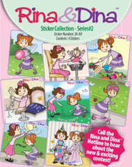 Rina and Dina 4 Pack Stickers Series 2