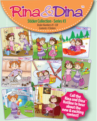 Rina and Dina 4 Pack Stickers Series 3