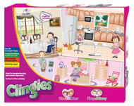 Clingies Re-usable Stickers and Boards