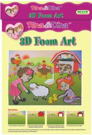 Rina and Dina 3D Foam Kit