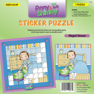 Pinny and Shimmy Negal Vasser Sticker Puzzle