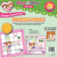 Rina and Dina Modeh Ani Little Hands  Sticker Puzzle