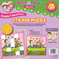Rina and Dina Little Hand Sticker Puzzle (in Balls)