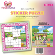 Rina and Dina Sticker Puzzle / Lemonade Stand