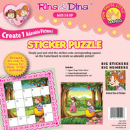 R/D Little Hands Sticker Puzzle / Jumping Balls