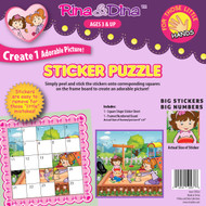 Rina & Dina Little Hands Sticker Puzzle / Sandbox