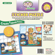 P/S Little Hands Sticker Puzzle / Aleph Bais Blocks