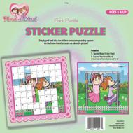 Rina/Dina Sticker Puzzle - Park