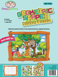 Geometric Sticker Puzzle Treehouse