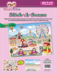 Stick -A- Scene Amusement Park